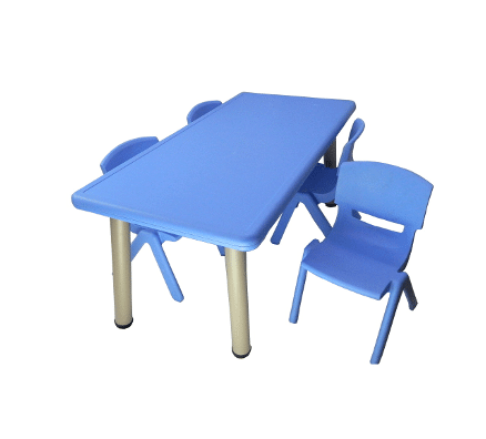 Kids Play Table | Minnie Rectangle Table