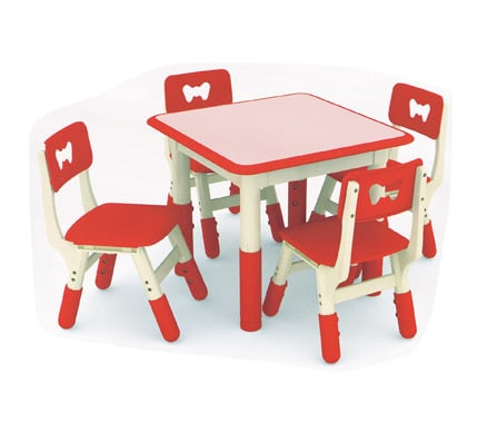Childrens Table | Jill Square ContrastingTable